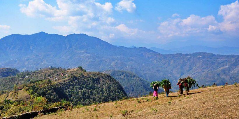 mountains-northwest-of-Pokhara